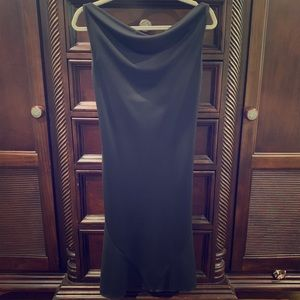 Express Fitted Black Dress